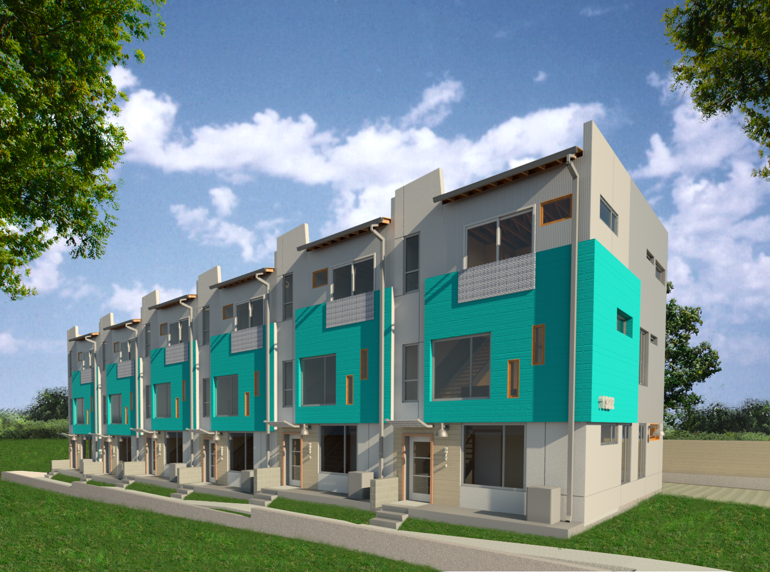 Lamar Station Townhomes