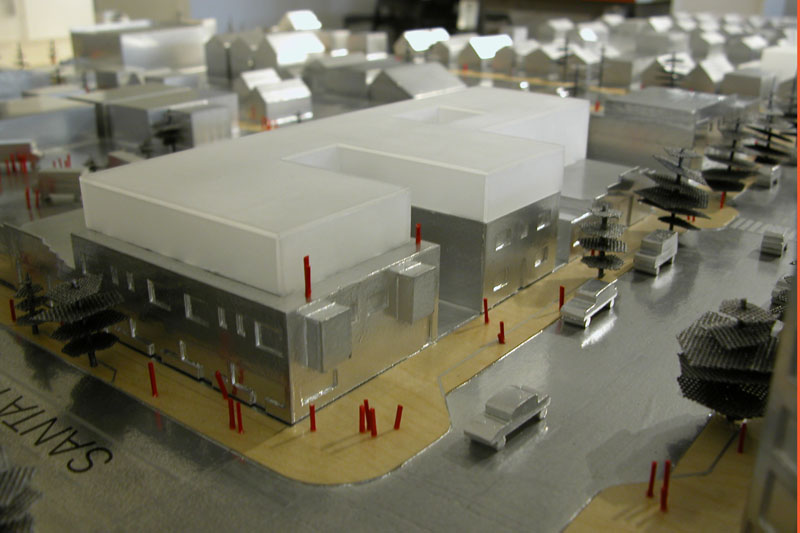 Physical Model of the Arts District